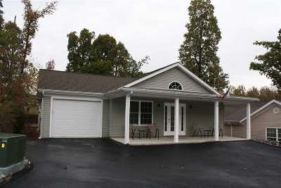 Grand Rivers Single Family Home Contract Recd - See Rmrks: 175 Little Lake Dr
