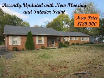 McCracken County Single Family Home For Sale: 4505 Buckner Lane