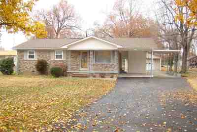 Paducah Single Family Home For Sale: 2320 Hovekamp