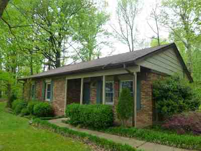 Paducah KY Single Family Home For Sale: $125,000