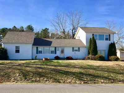 Benton Single Family Home For Sale: 258 Christian Fellowship Rd.