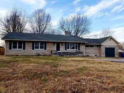 Paducah Single Family Home For Sale: 2611 Olivet Church Rd