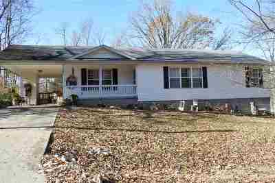 Grand Rivers KY Single Family Home For Sale: $105,000