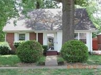 Paducah Single Family Home For Sale: 2522 Harrison Street