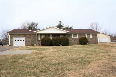 Paducah KY Single Family Home For Sale: $174,900