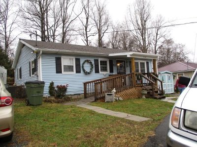 Hopkinsville Single Family Home For Sale: 214 Hillside Terrace
