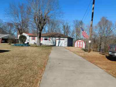 Benton Single Family Home For Sale: 3637 Egners Ferry Road