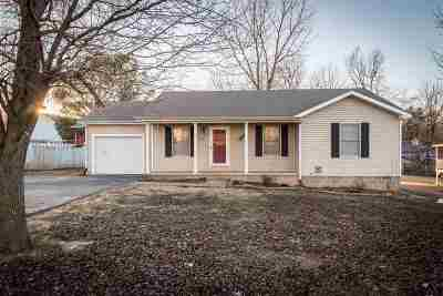Paducah Single Family Home For Sale: 5935 Majestic Oak Dr.