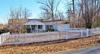 Eddyville Single Family Home For Sale: 313 Indian Hills Trail