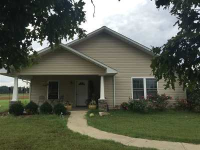 Murray KY Single Family Home For Sale: $135,000