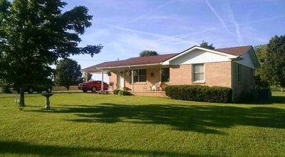 Benton Single Family Home For Sale: 393 Holland Rd