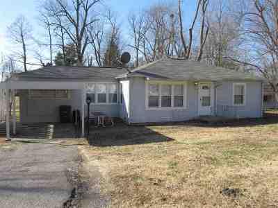 Paducah Single Family Home For Sale: 210 Poplar