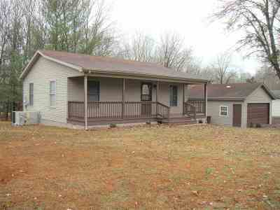 Cadiz KY Single Family Home For Sale: $87,400