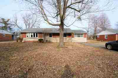 Paducah Single Family Home For Sale: 204 Lakeview