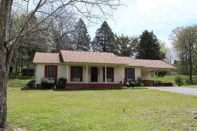 Murray KY Single Family Home For Sale: $125,000