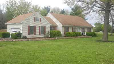 Hopkinsville KY Single Family Home For Sale: $225,000