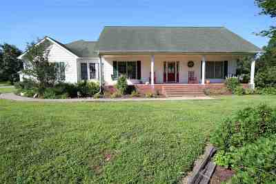McCracken County Single Family Home For Sale: 9050 Gipson Road