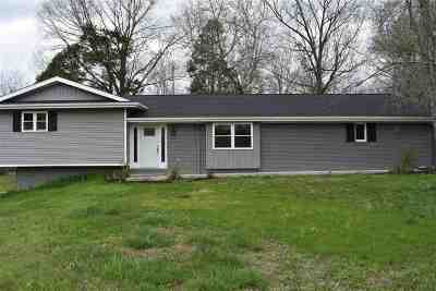 Benton KY Single Family Home For Sale: $194,000