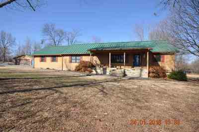 Smithland, Tiline Single Family Home For Sale: 1142 Pisgah Road
