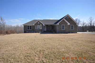 Benton Single Family Home Contract Recd - See Rmrks: 567 Ruggie Cemetery Rd