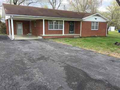 Benton Single Family Home For Sale: 1326 Valley Rd