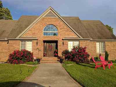 Benton KY Single Family Home For Sale: $289,000