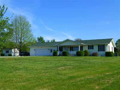 McCracken County Single Family Home For Sale: 9990 State Route 945