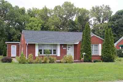 Murray Single Family Home For Sale: 1108 Elm