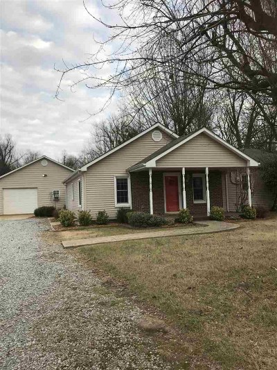 McCracken County Single Family Home For Sale: 5710 Old Us Hwy 45 South