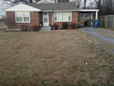 Paducah Single Family Home Contract Recd - See Rmrks: 3006 Benton Road