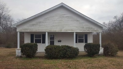 Benton Single Family Home For Sale: 1633 Walnut St