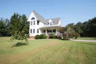 Calloway County Single Family Home For Sale: 1254 Backusburg
