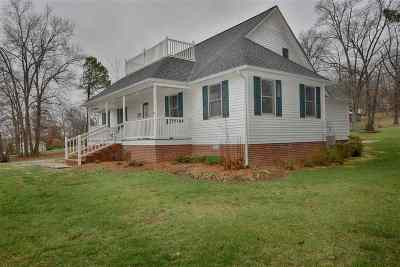 Benton Single Family Home For Sale: 53 Lovers Lane