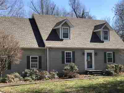Gilbertsville Single Family Home For Sale: 972 Red River Road