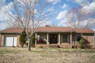 Murray Single Family Home For Sale: 2420 Pottertown Road
