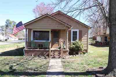 Calvert City Single Family Home Contract Recd - See Rmrks: 323 Birch St.