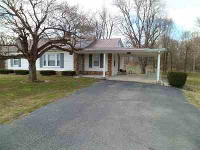 Mayfield Single Family Home For Sale: 2999 S Hwy 45