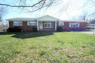 McCracken County Single Family Home For Sale: 1810 Gholson Road