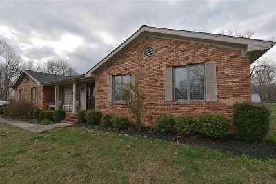 Calvert City Single Family Home For Sale: 106 Lancelot
