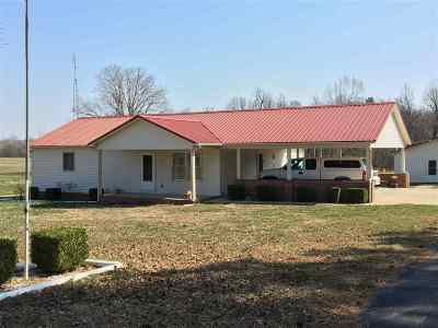Benton Single Family Home For Sale: 2088 Bryant Rd