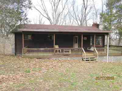 Trigg County Single Family Home For Sale: 54 Cedar Point
