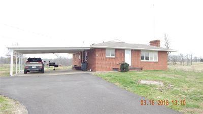 Calvert City Single Family Home Contract Recd - See Rmrks: 867 Vaughn's Chapel Rd