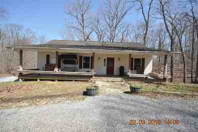 Gilbertsville KY Single Family Home For Sale: $164,900