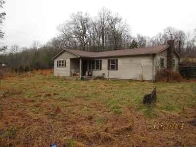 Cadiz Single Family Home For Sale: 7402 Rockcastle Rd.