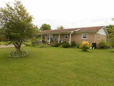 Calloway County Single Family Home For Sale: 9909 State Route 121 N
