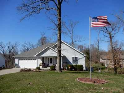 Gilbertsville Single Family Home For Sale: 5884 Moors Camp Hwy