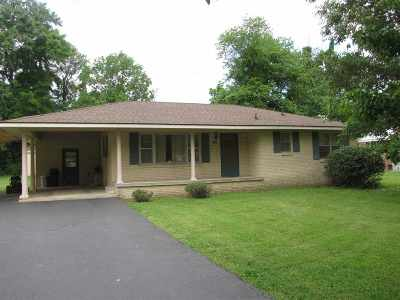 Benton KY Single Family Home For Sale: $89,500