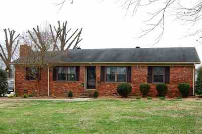 Benton Single Family Home For Sale: 626 Holly Drive