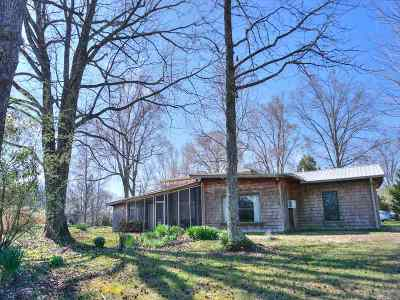 Calloway County, Marshall County, Henry County, Tennessee County Single Family Home For Sale: 220 Kenwood Dr.