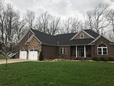 Murray KY Single Family Home Contract Recd - See Rmrks: $325,000